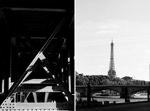 Séance engagement, Pont Alexandre III, Paris